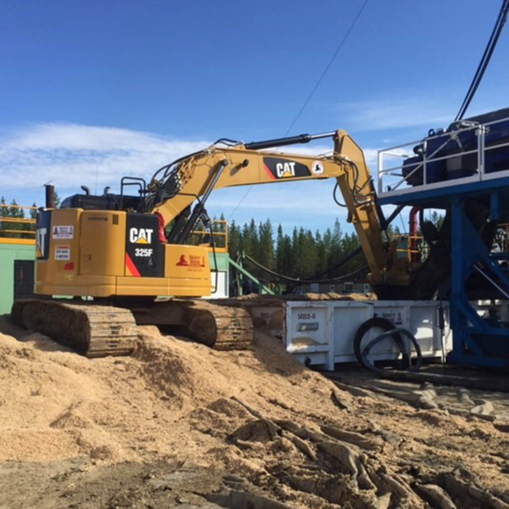Pipeline Oil & Gas Excavator Rentals