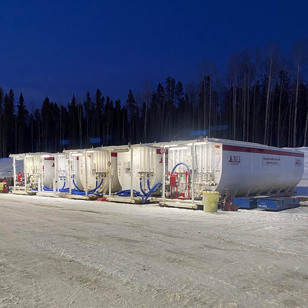 Horizontal Tank Fluid Storage Solutions
