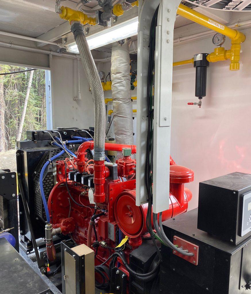 Natural Gas Turbo Cummins Generator