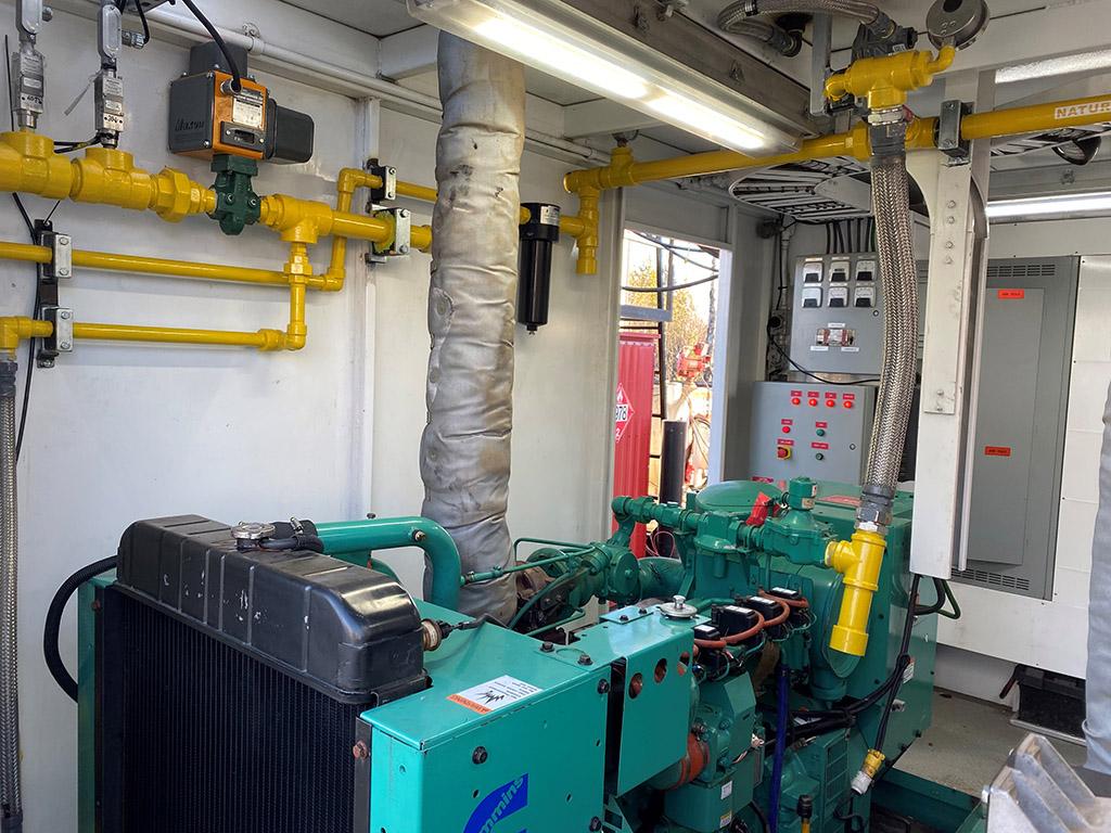 Natural Gas Turbo Generator Rental